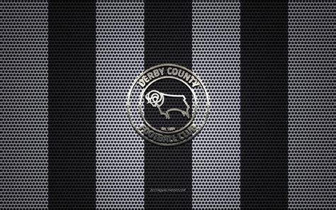 Scarica sfondi Il Derby County FC logo, club di calcio ...