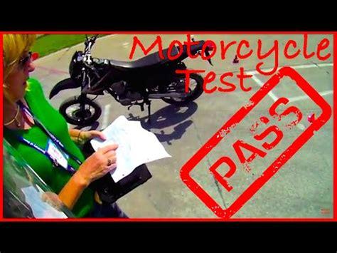 (pov) Illinois Motorcycle Test  Pass Youtube