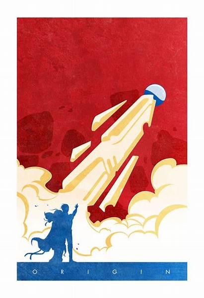 Superhero Origin Posters Origins Superman Series Ninjabot