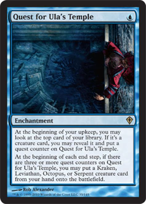 wwk 1 21 wotc spoilers amulet of vigor everflowing chalice quest for ula s temple rumor