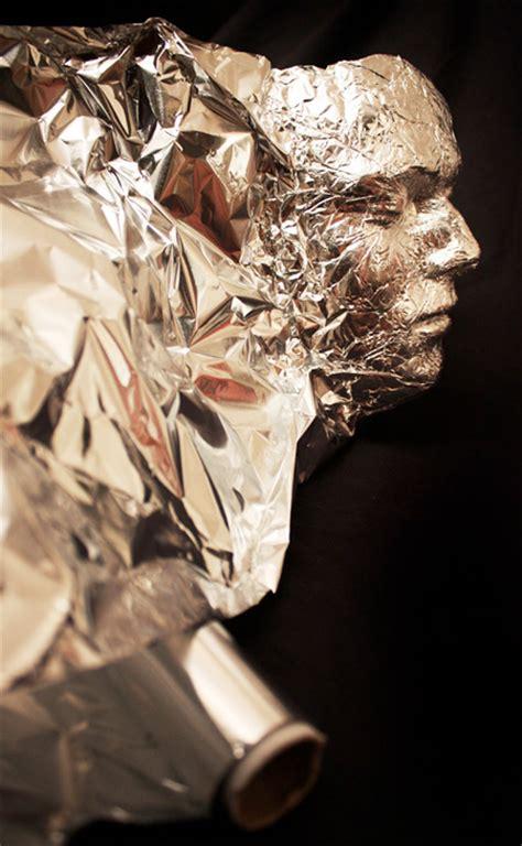 mafas place  inspiration tin foil portrait