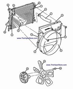 Buick Rendezvous Parts Diagram Radiator Fan