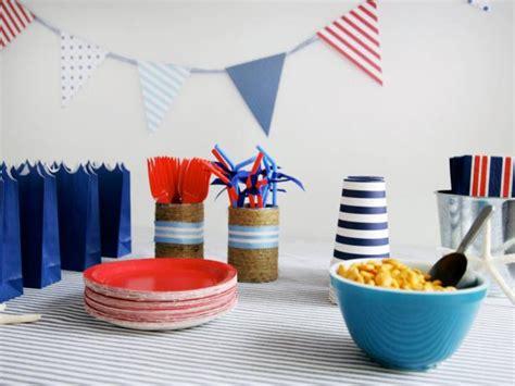 Totally Nautical Kids' Birthday Party Hgtv