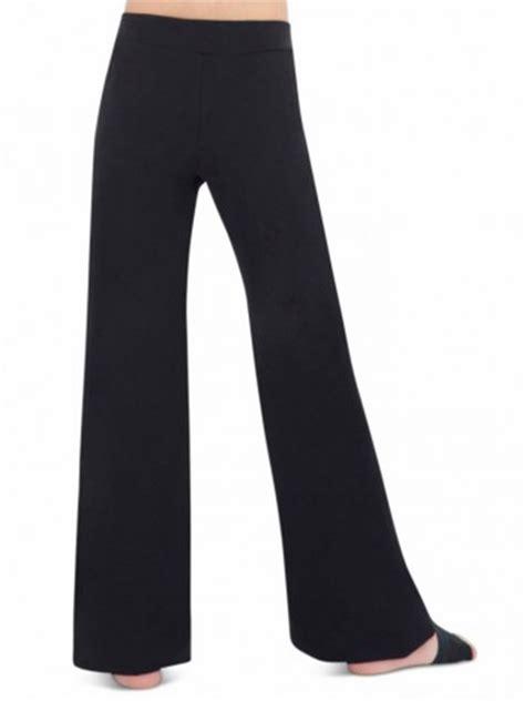 capezio black jazz pants
