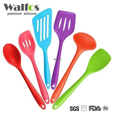 ustensiles de cuisine en silicone spatule ustensile de cuisine achetez des lots à petit prix