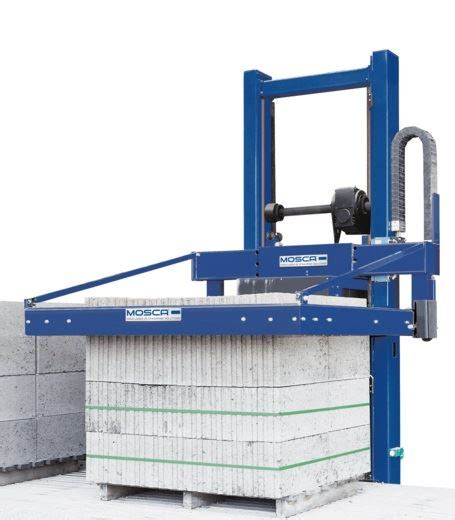 kov  fully automatic pallet strapping machine product mosca direct