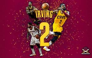 "Kyrie Irving ""Abstract"" Wallpaper 