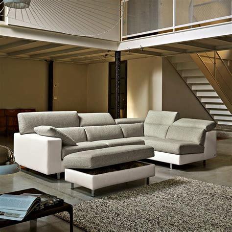 canapé modulable en cuir poltronesofà divani
