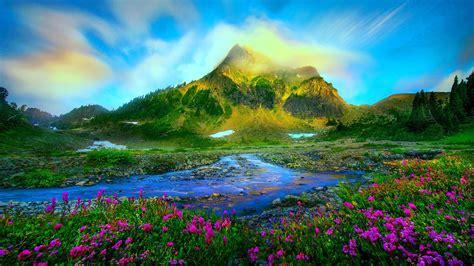 Nature Landscape Wallpapers Hd Widescreen Wallpaper Nature