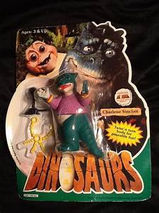 Dinosaurs TV Show Charlene Sinclair Action Figure New on Card