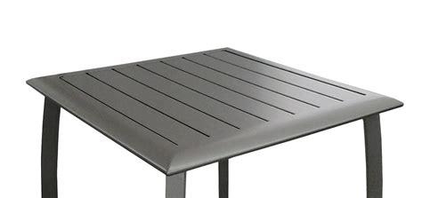 table de jardin carr 233 e 70 cm livourne grise achetez nos tables de jardin carr 233 es 70 cm