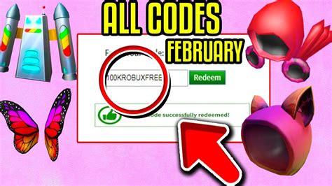 roblox promo code  february  working promo