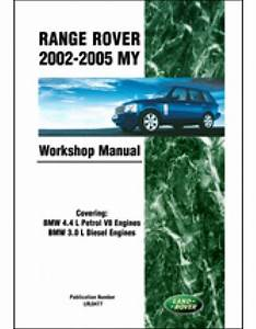 Land Rover Range Rover Shop Manual Service Repair Book