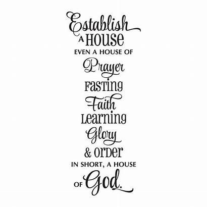 Establish Quotes Wall God Decal Wallquotes Faith