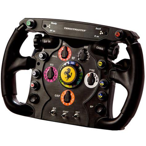 thrustmaster  rs ferrari  wheel add  volant pc