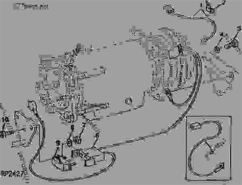 Deere 4230 Wiring Harnes by 4230 4430 And 4630 Model Tractor Air Compressor Wiring