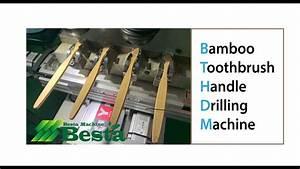 Bamboo Toothbrush Handle Drilling Machine  Bamboo