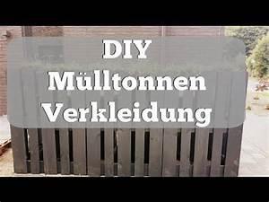 Mülltonnenverkleidung Selber Bauen : diy m lltonnenverkleidung aus paletten youtube ~ Watch28wear.com Haus und Dekorationen