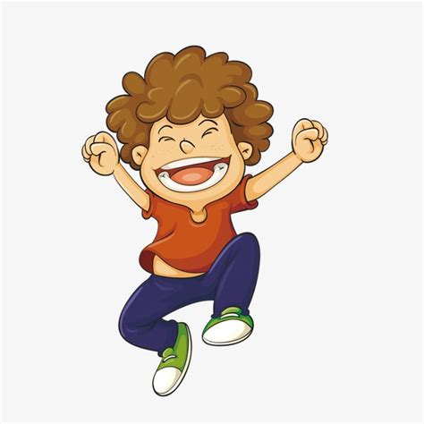 Excited Clipart Excited Boy Boy Clipart Excited Boy Png Image And