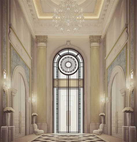 villa entrance design mahermouhajer