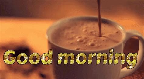 With eggs ,coffee, fruits and cup. Good Morning Tea GIFs | Tenor