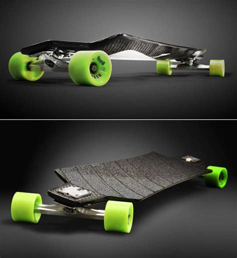 Carbon Fiber Longboard Deck by Louis Bradier S Skateboard Ditches Plywood For Carbon