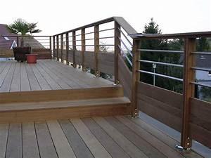 nivremcom garde corps terrasse bois castorama With idee couleur escalier bois 10 pose de terrasses bois et composite