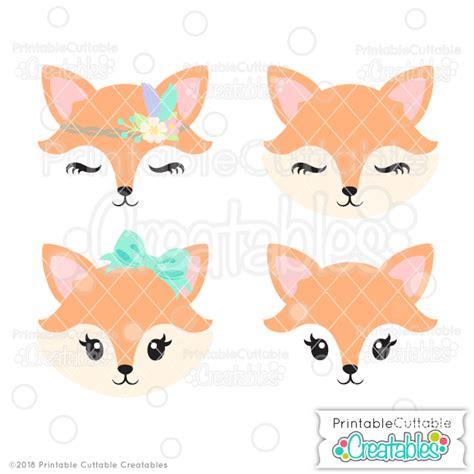 cute fox face sofontsy