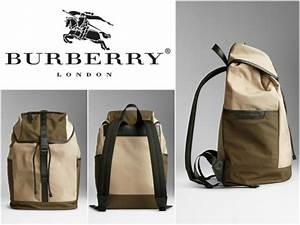 Sac A Dos Luxe Homme : sac dos luxe burberry le barboteur ~ Farleysfitness.com Idées de Décoration