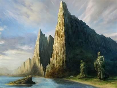 Landscape Fantasy Wallpapers Backgrounds Alphacoders Desktop Background