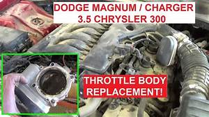 Throttle Body Removal And Replacement Dodge 3 5 Dodge
