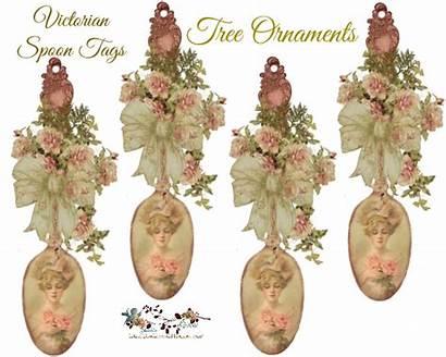 Victorian Christmas Ornaments Designs Glenda Tree Spoon