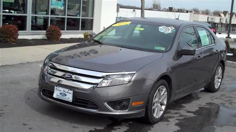 ford fusion sel  fwd  sale brian hoskins ford