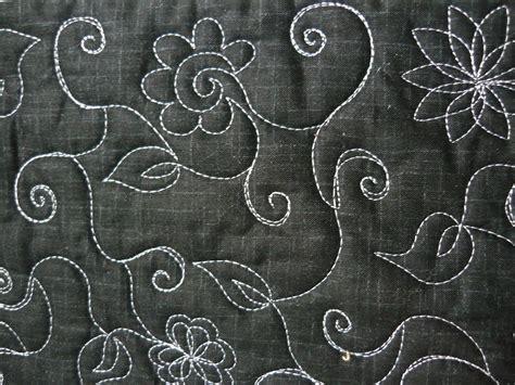free motion quilting templates deborah louie a new free motion quilting sle quilt