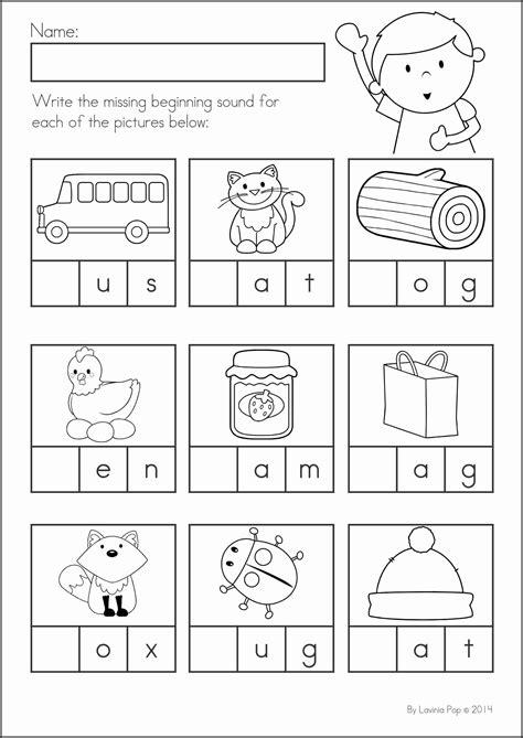 preschool printable worksheets kindergarten fundations