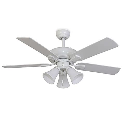 42 inch ceiling fan with light palm harbor 42 inch white abbington 3 light white ceiling