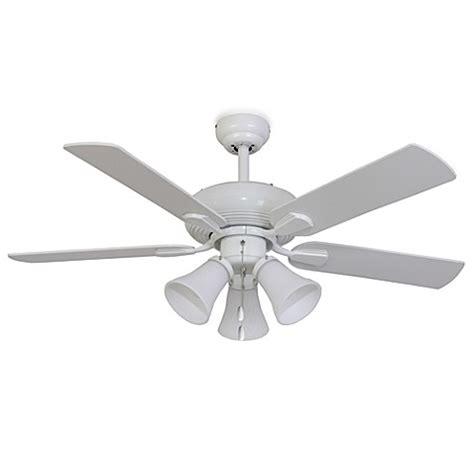 42 white ceiling fan with light palm harbor 42 inch white abbington 3 light white ceiling