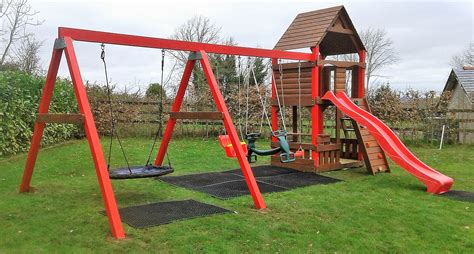 Play Swing by Playcentre Ruby Tree House Playhouse Slide Swings Nest