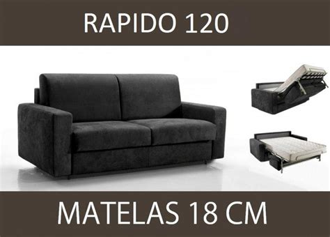 canapé 2 places microfibre canape lit 2 places master convertible ouverture rapido