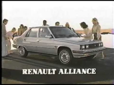 1984 renault alliance 1984 renault alliance commercial youtube