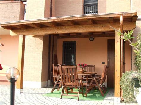 tettoie in legno per balconi tettoie in legno modena parma pergolati porticati per