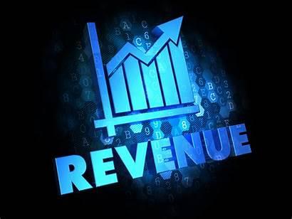 Revenue Background Digital Dark Productivity Concept Profitability