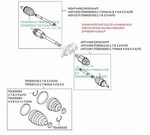 Front Drive Shafts  Cv Joints And Boot Kits