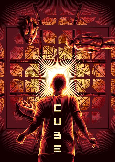 cube alternative  poster  behance