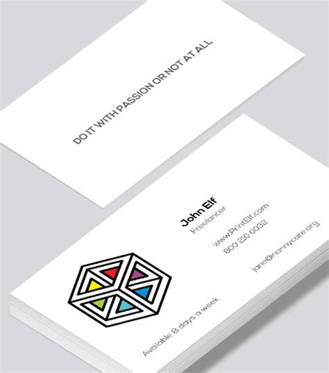 freelance business card modern design