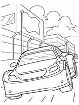 Coloring Nascar Race Crayola Printable Stockcar sketch template