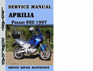 Aprilia Pegaso 650 1997 Service Repair Manual