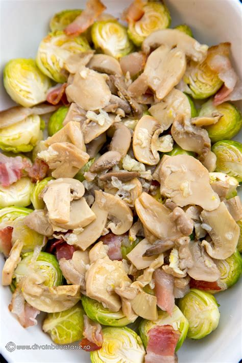 si鑒e social bruxelles gratin de varza de bruxelles cu bacon si ciuperci in bucatarie