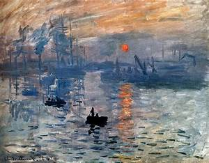 Claude Monet Impression Sunrise Painting | Best Paintings ...