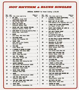 The 39 60s At 50 Saturday January 30 1965 Billboard R B